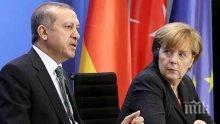 Ердоган скочи на Меркел: Признаването на арменския геноцид ще навреди на отношенията Германия-Турция