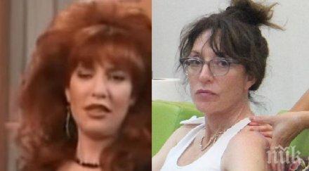 Познавате ли тази актриса? През 90-те бе едно от най-известните лица от тв екрана