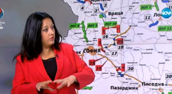 Лиляна Павлова: 100 000 винетки са купени повече до 1 юни 2016-а