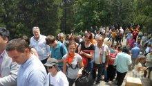 Хиляди се събраха на Янини грамади по повод годишнина от гибелта на Александър Стамболийски