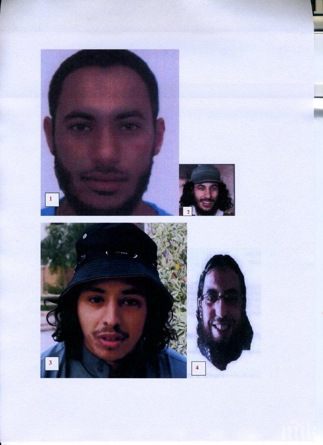 САМО В ПИК! Вижте най-издирваните главорези на ДАЕШ, организирали атентатите в Париж и Брюксел! Има ли между тях лица с БГ паспорти? (снимки и схема)