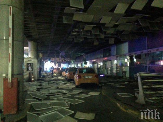 """""""Хюриет"""": Най-малко 28 са били убити при атентата на летище """"Ататюрк"""" (СНИМКА)"""
