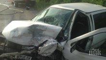 Жена е ранена при катастрофа в Бургас