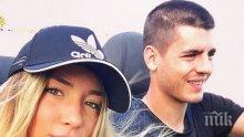 Алваро Мората теши мъката си с италианско гадже в Ибиса (СНИМКИ)