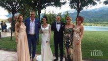 ПЪРВО В ПИК! Лъчо Танев омъжи дъщеря си за адвокат от Аржентина! Мениджърът чака второ внуче (ПЪРВИ СНИМКИ ОТ СВАТБАТА)