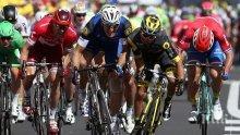 Фотофиниш и в днешния етап на Тур дьо Франс