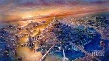Жителите на Атлантида научили египтяните да строят пирамиди