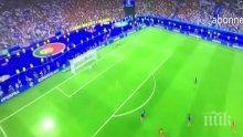 Вижте лудата радост на Роналдо след победния гол! КР7 буквално пощуря (ВИДЕО)