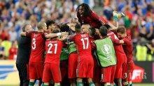След 12 години чакане! Роналдо и Португалия в сълзи от радост! Уникален гол реши финала (ОБНОВЕНА С ВИДЕО+СНИМКИ)