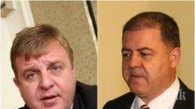Лидерът на ВМРО Красимир Каракачанов попиля Ненчев за наборната казарма