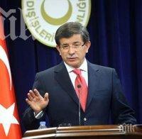 Давутоглу: Сигурността на Турция е сигурност и за света