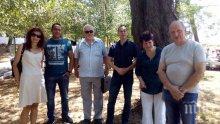 Старейшини ГЕРБ в Хасково почетоха паметта на жертвите във Франция и Турция
