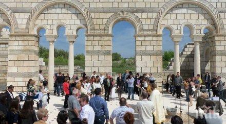 Папата дари 5 хил.евро за Голямата базилика в Плиска