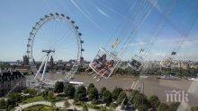 Няколко  часа спасяват посетители на лондонски атракцион