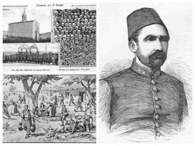 Евреинът Сюлейман паша корми бременни българки