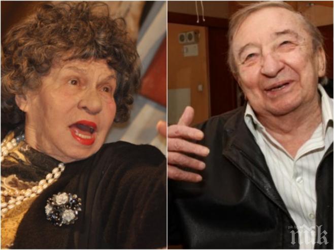 ЕКСКЛУЗИВНО И ПЪРВО В ПИК! Стоянка Мутафова в шок: Боже, майко мила! Ние толкова се обичахме с Кольо