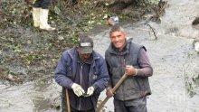 Чистят ударно речните корита във Врачанско