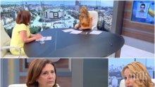 ЕКШЪН В ЕФИР! Водеща скочи на Бъчварова заради връщането на Бююк в Турция