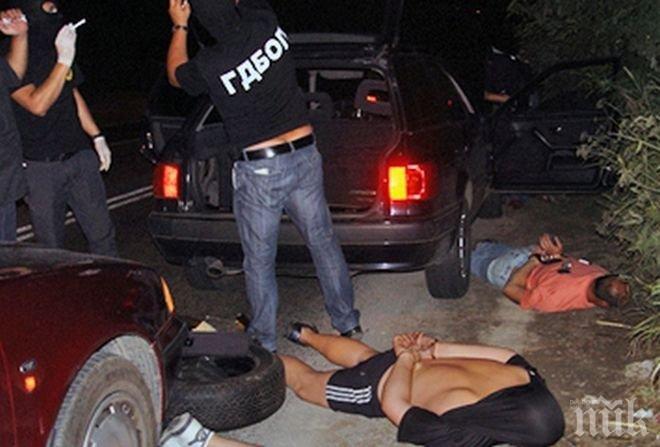 Мащабна акция в Пловдив! Арестуваха седем души за дрога