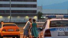 Екшън в Бургас! Нахакана шофьорка без книжка спретна луда гонка с полицията