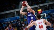 САЩ на финал след труден успех над Испания