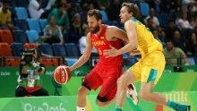 Мъжкият национален отбор по баскетбол на Испания спечели бронзовите медали на Игрите в Рио