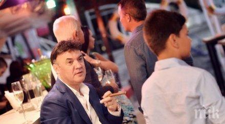 Изненада! Боби Михайлов ожени брат си на 47 (СНИМКА)