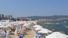 Туристи масово се оплакват от неудобни шезлонги и водорасли на плажа