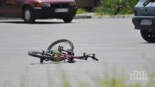 Бургазлийка с рено уби велосипедист край Лозенец