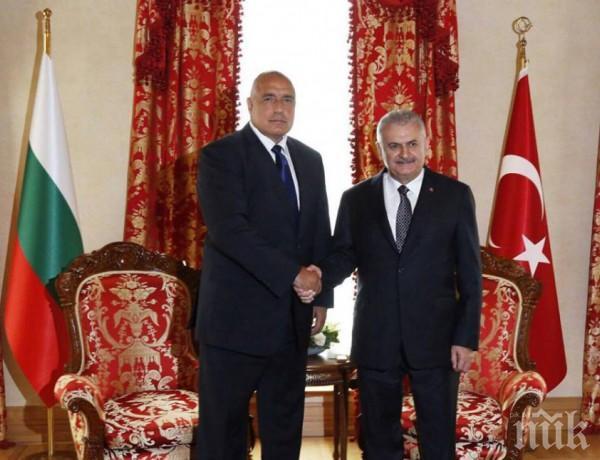 ИЗВЪНРЕДНО! Бойко Борисов твърд: Няма да приема да сме буферът между Турция и Европа!