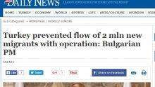 Голям интерес към визитата на Борисов в турските медии
