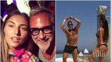 Българката, снимала се с италианската звезда милионер Джанлука Ваки: Погледнахме се, засмяхме се и той продължи да танцува