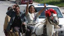 Бясна циганска сватба в центъра на Бургас подлуди хората