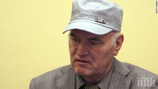 Сръбски вестници: Младич бере душа, иска да бъде погребан до дъщеря си