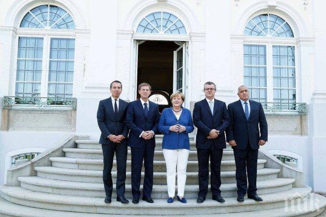 Бойко Борисов и Ангела Меркел ще имат нова среща, този път в Австрия