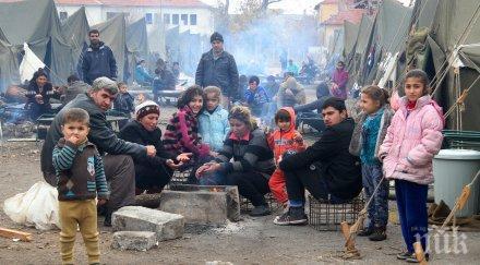 бежанците харманли вечерен час