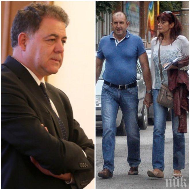 ЕКСКЛУЗИВНО! Министърът на отбраната Николай Ненчев: Румен Радев е в конфликт на интереси - той назначи жена си за финансист във въоръжените сили