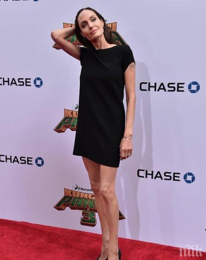 ОТСЛАБНЕТЕ СЕГА! Ето я зелената диета на Анджелина Джоли - 8 кг се стопяват за две седмици