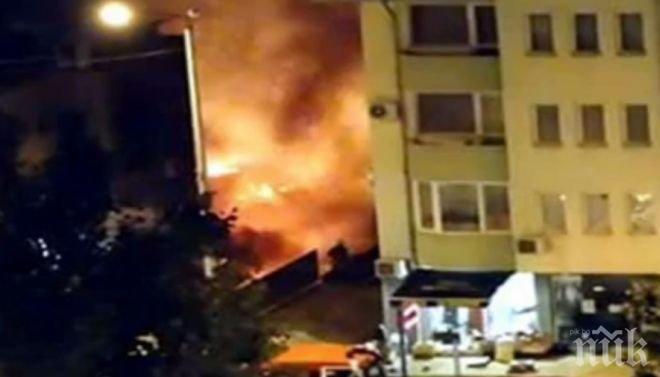 Раненият при взрива в Плевен - с дълбоки изгаряния на главата и дихателните пътища