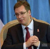 Александър Вучич: Сърбия не може да е защитата на Европа срещу мигрантите