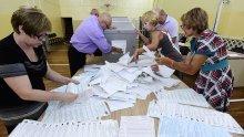 """""""Единна Русия"""" води на изборите за Държавна дума с 53,54%, след обработени 50% от протоколите"""