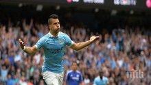 Агуеро с нов договор, Серхио посочи голямата си цел в Манчестър Сити