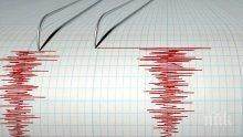 ИЗВЪНРЕДНО! Земетресение разлюля Гърция преди минути! Магнитудът е 4,5 по Рихтер