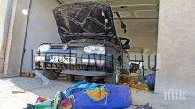 ТРАГЕДИЯ: Газова уредба на автомобил се взриви в сервиз, двама души берат душа