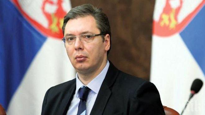ОТПОР! Сръбският премиер Вучич твърдо против стена на границите с България и Македония