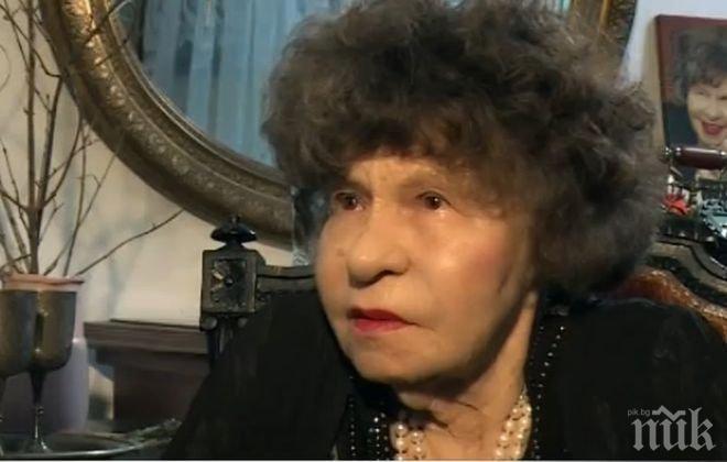 Стоянка Мутафова призна: Тодор Живков не ми даваше да ям, че бях напълняла, но пък спаси мъжа ми от рускините