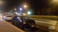 ТИР, кола и микробус се блъснаха преди Сандански, движението е затруднено