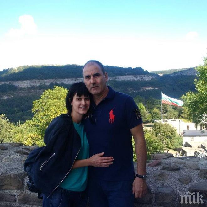 Цветанов и съпругата му се заредиха с положителни емоции на хълма Царевец (СНИМКИ)