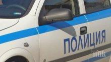 Автобус отнесе кола в Бургас