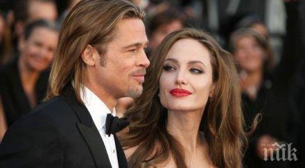 Стана ясна причината за развода на Анджелина Джоли и Брад Пит
